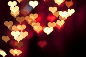 lit hearts